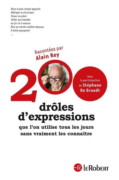 200 DROLES D'EXPRESSIONS