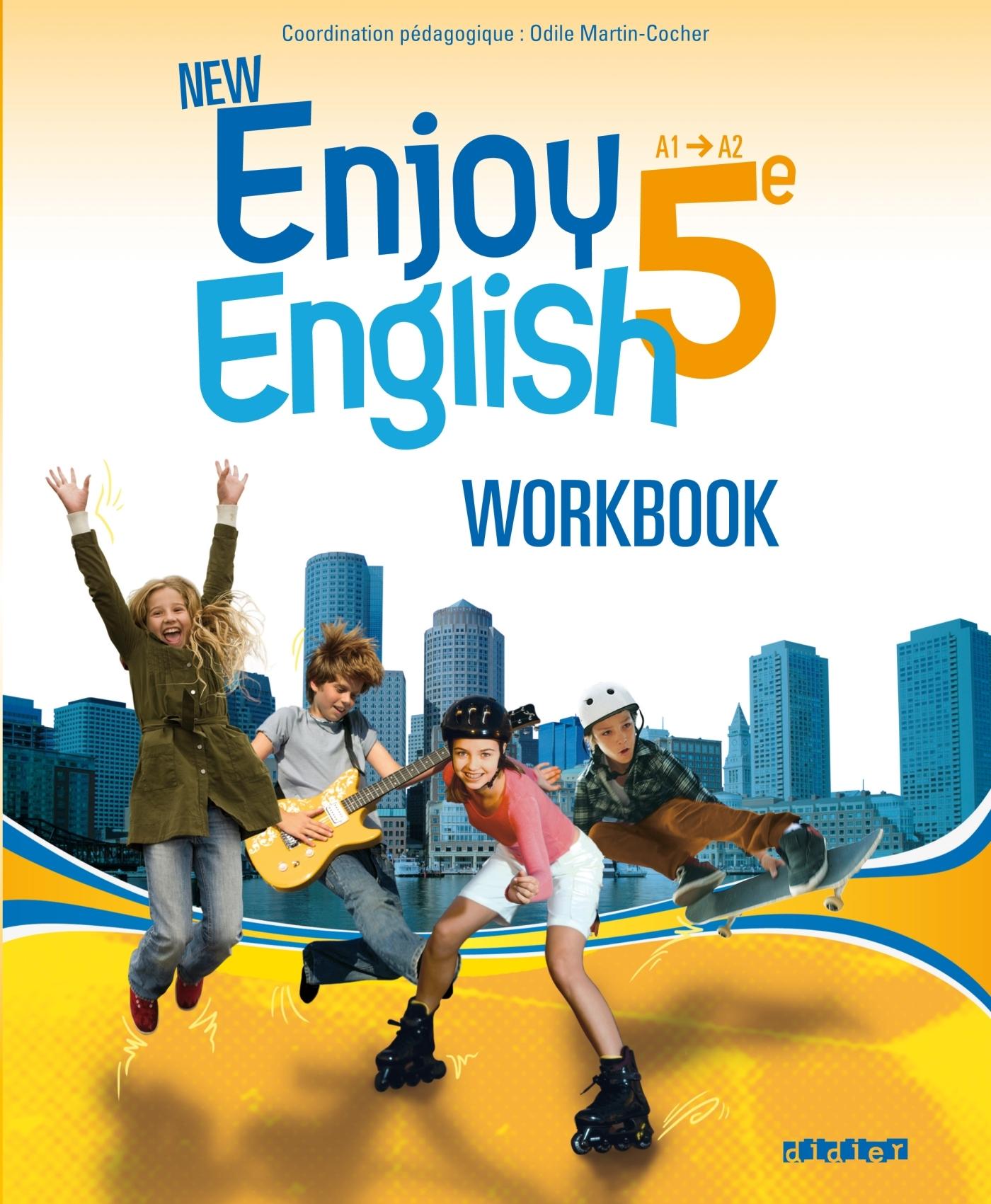 NEW ENJOY ENGLISH 5E - WORKBOOK - VERSION PAPIER
