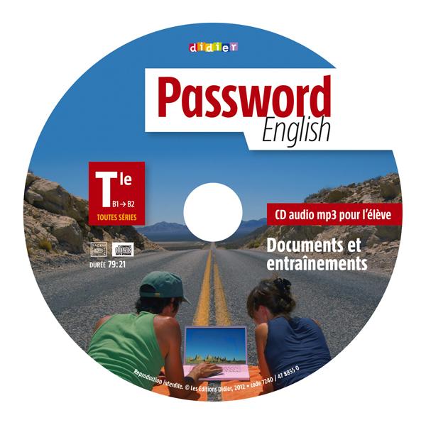 PASSWORD ENGLISH TLE - CD MP3 DE REMPLACEMENT
