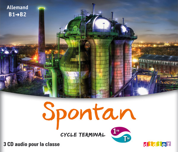 SPONTAN 1RE/TLE - B1/B2 - COFFRET 3 CD AUDIO CLASSE