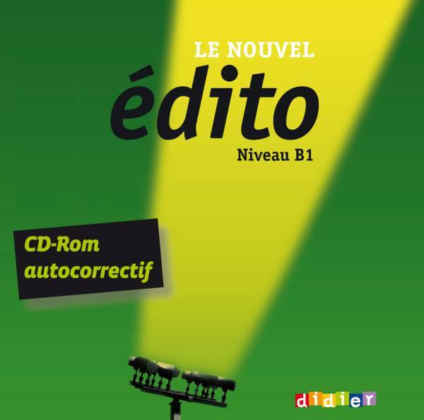 LE NOUVEL EDITO B1 - CD-ROM D'EXERCICES