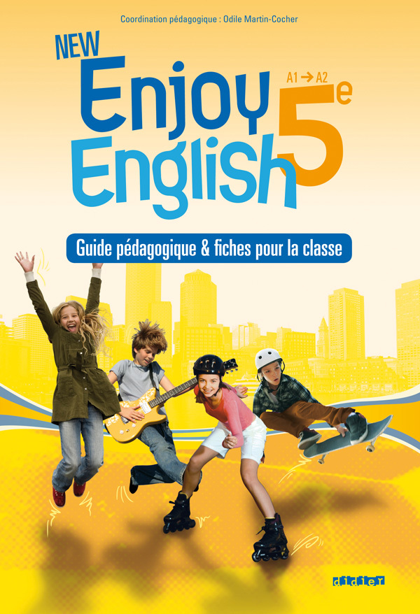 NEW ENJOY ENGLISH 5E - GUIDE PEDAGOGIQUE - VERSION PAPIER