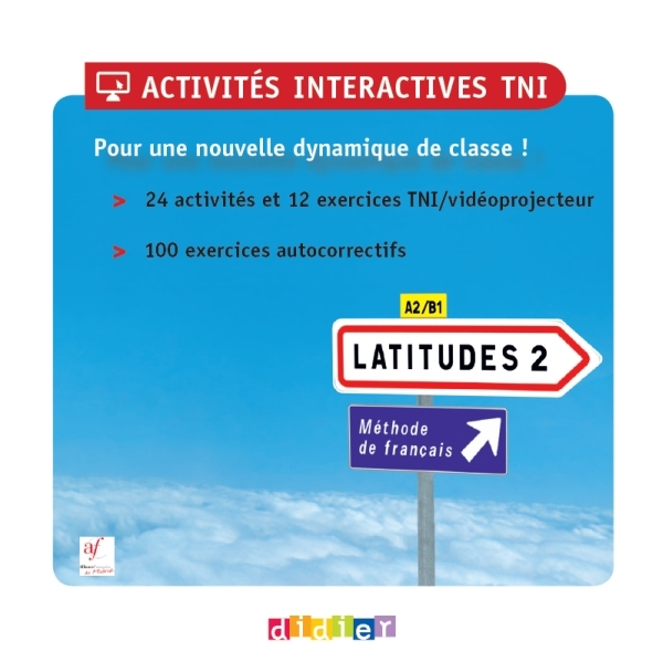 LATITUDES 2 - CD-ROM DE RESSOURCES NUMERIQUES