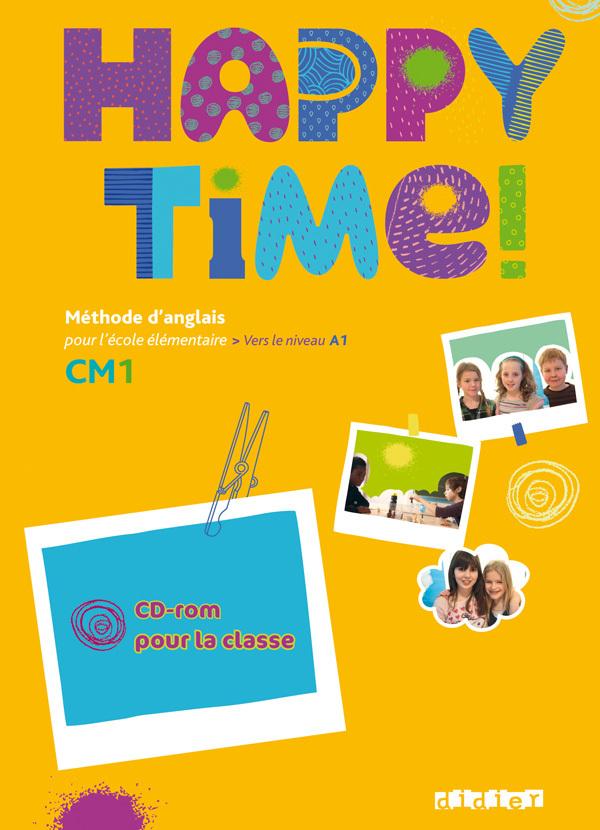 HAPPY TIME CM1 - CD -ROM DE RESSOURCES