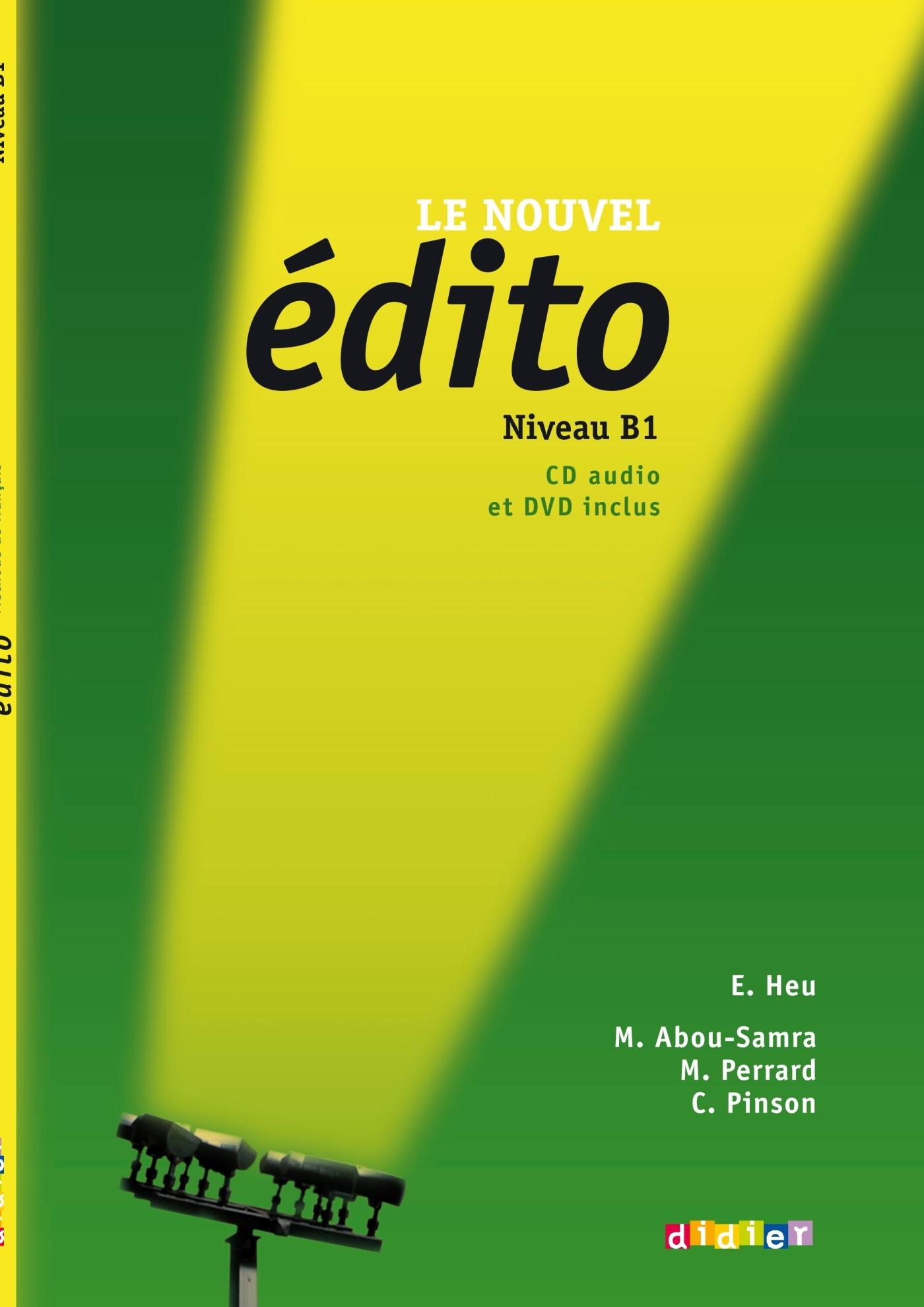 LE NOUVEL EDITO B1 - LIVRE + CD + DVD