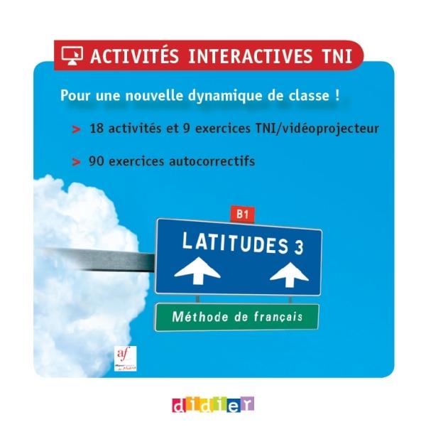 LATITUDES 3 - CD-ROM DE RESSOURCES NUMERIQUES