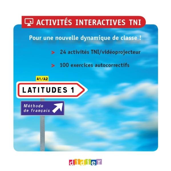 LATITUDES NIV.1 - CD-ROM DE RESSOURCES NUMERIQUES