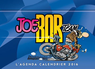 L'AGENDA-CALENDRIER 2016 JOE BAR TEAM