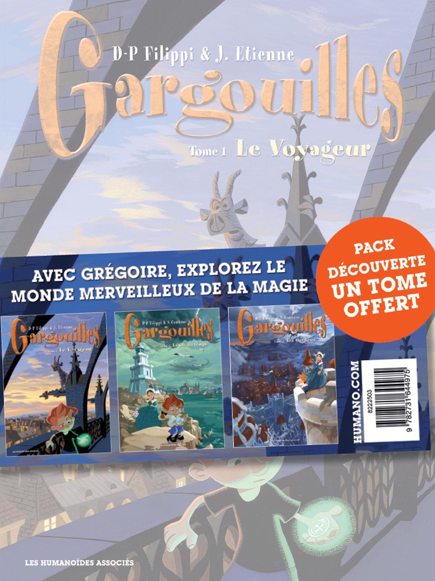 GARGOUILLES - PACK T1 A 3 (T3 OFFERT)