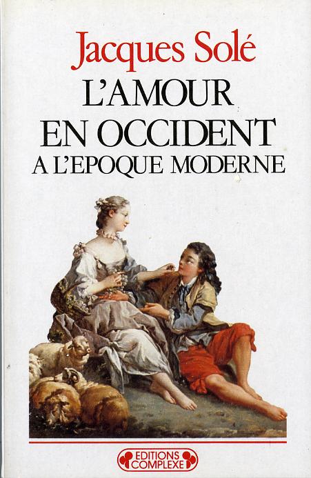 L'AMOUR EN OCCIDENT