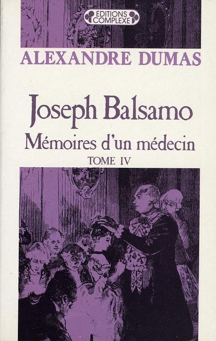 JOSEPH BALSAMO  TOME 4