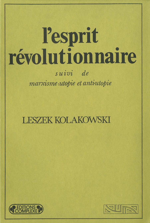 L'ESPRIT REVOLUTIONNAIRE