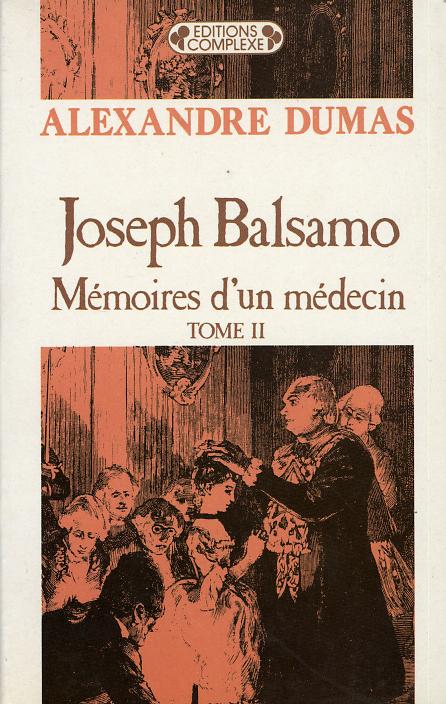 JOSEPH BALSAMO  TOME 2