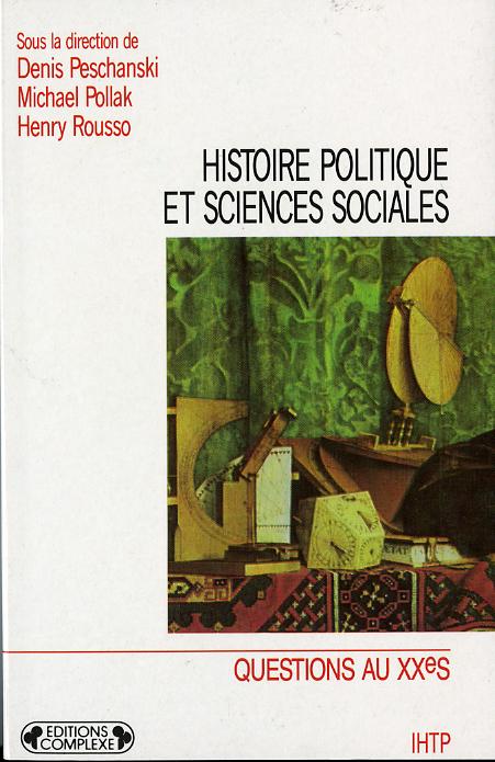 HISTOIRE POLITIQUE ET SCIENCES SOCIALES