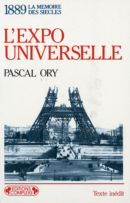 1889  L EXPO UNIVERSELLE