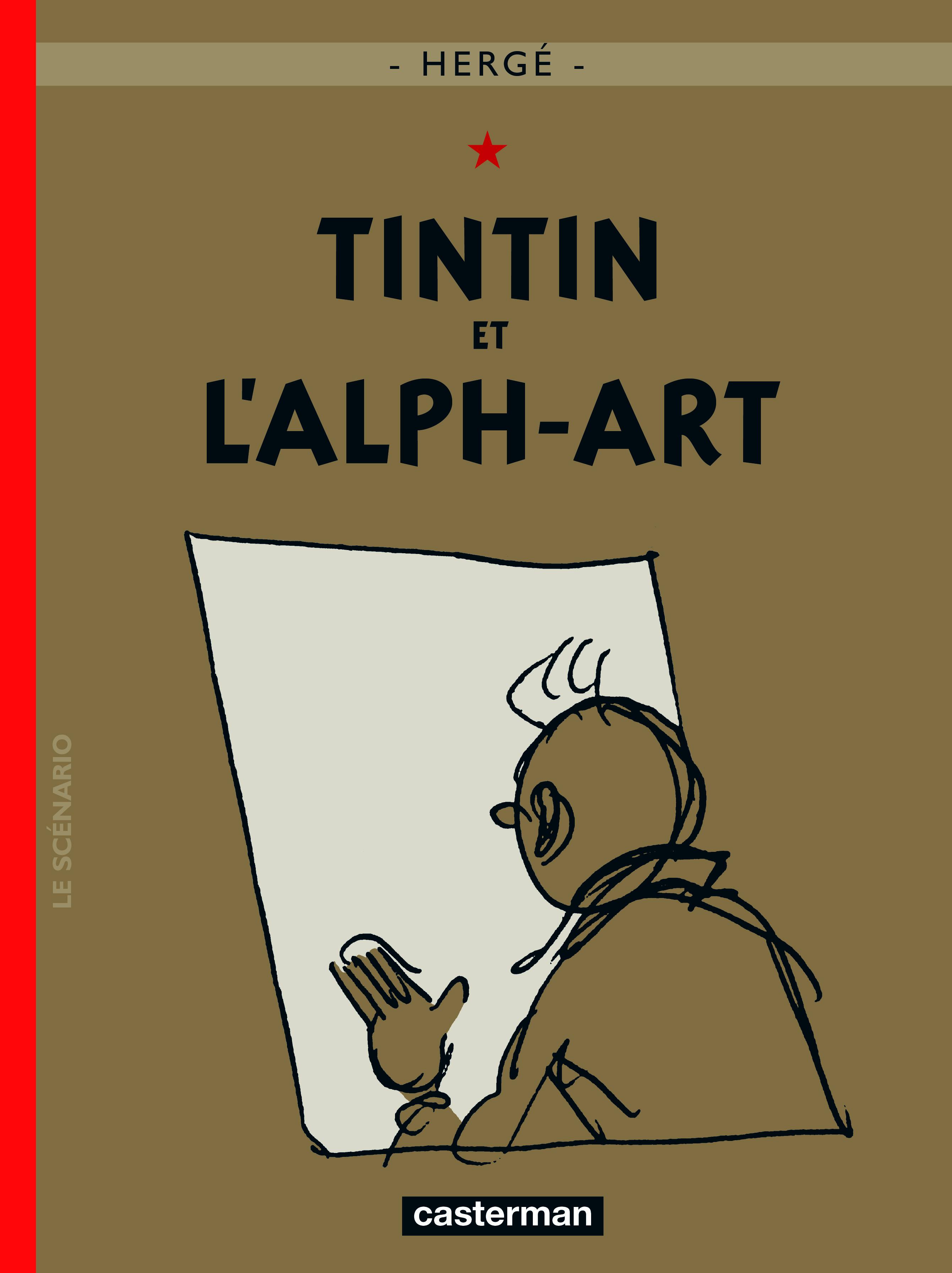 TINTIN ET L'ALPH-ART T24