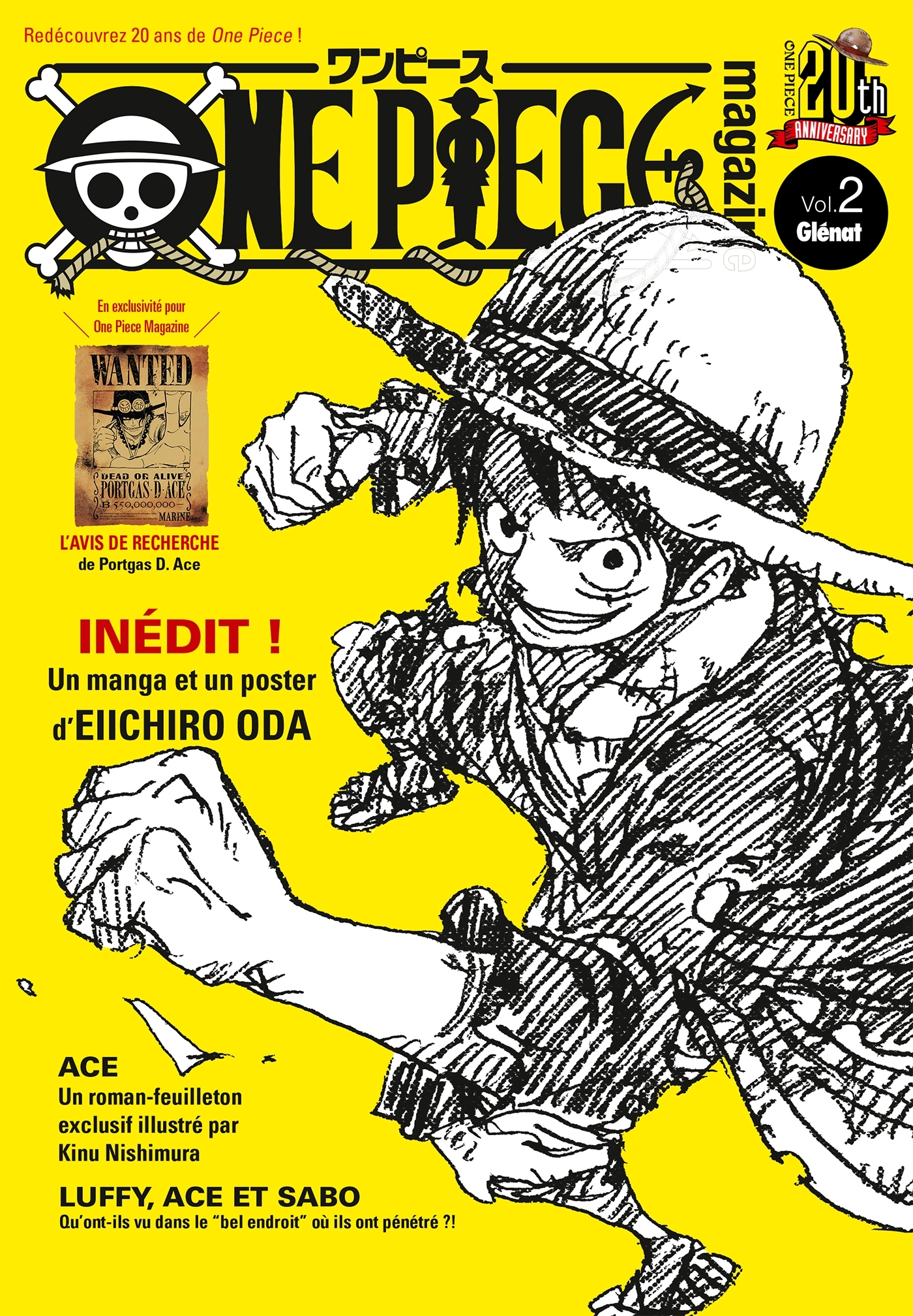 ONE PIECE MAGAZINE - TOME 02