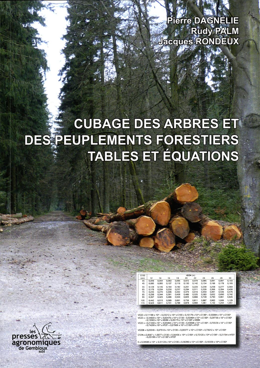 CUBAGE DES ARBRES ET DES PEUPLEMENTS FORESTIERS. TABLES ET EQUATIONS