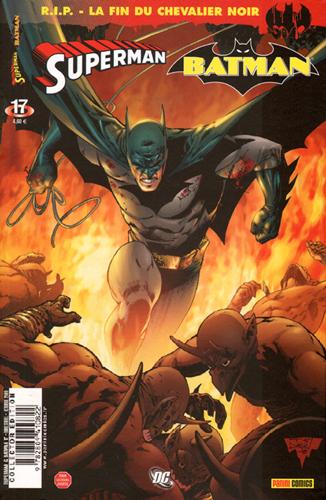 SUPERMAN & BATMAN 17 RIP LA FIN DU CHEVALIER NOIR