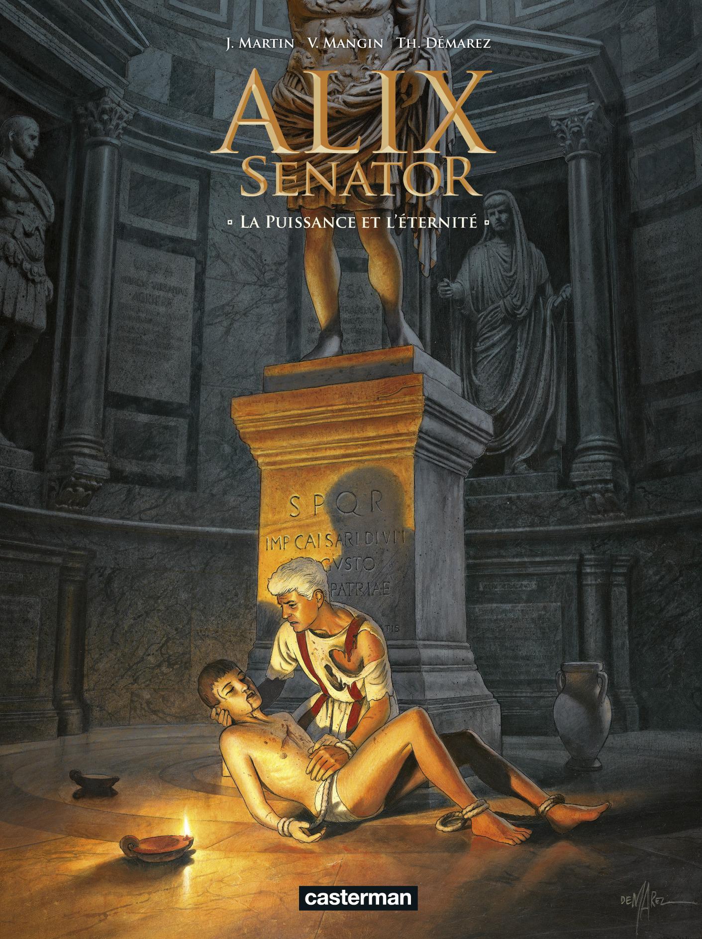 ALIX SENATOR T7 - LA PUISSANCE ET L'ETERNITE