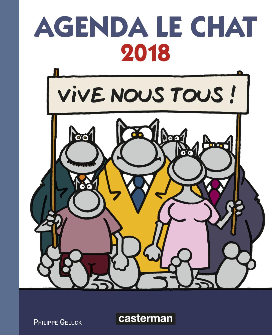 AGENDA LE CHAT 2018