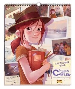 LES CARNETS DE CERISE - CALENDRIER 2016