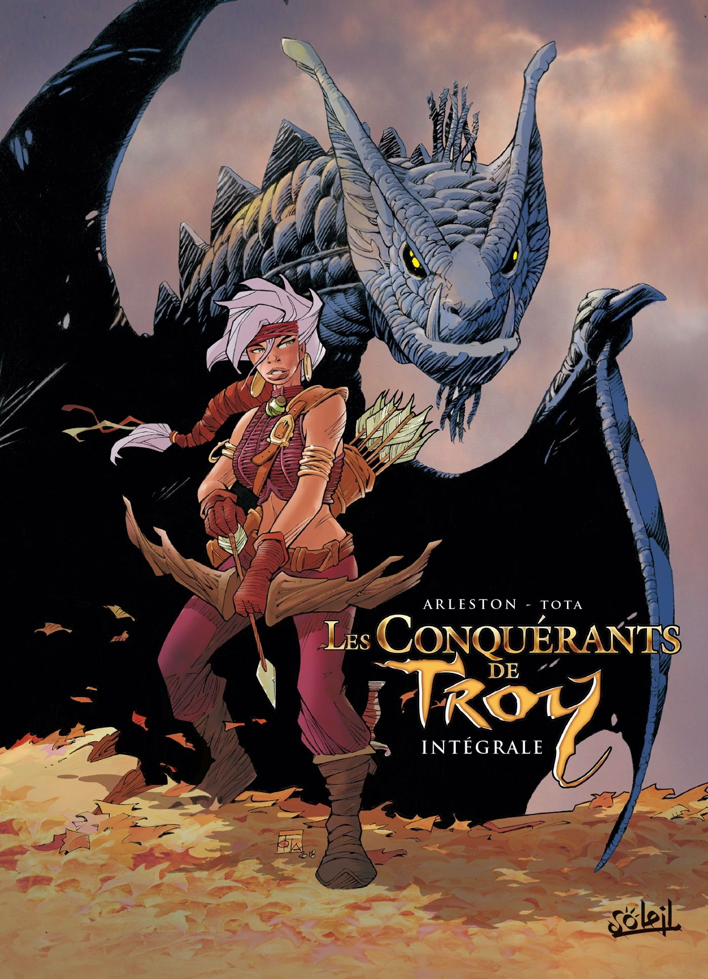 CONQUERANTS DE TROY INTEGRALE - T01 A T04
