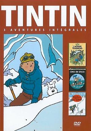 TINTIN 3 AVENTURES : TINTIN AU TIBET - AFFAIRE TOURNESOL - COKE EN STOCK
