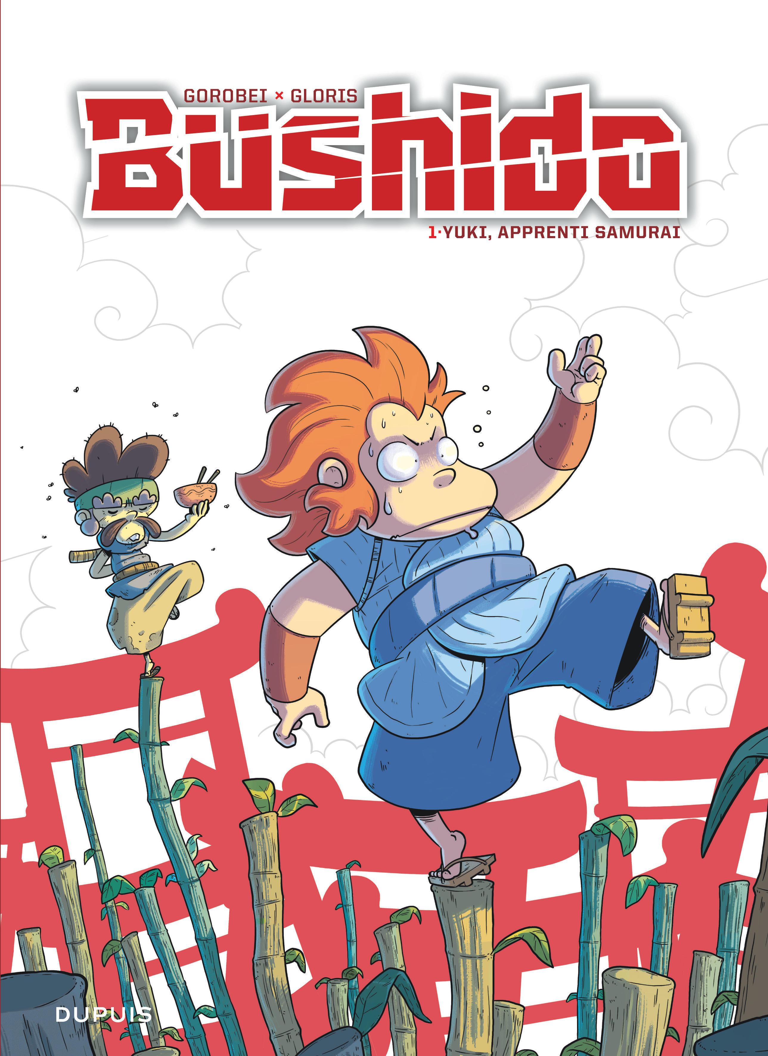 BUSHIDO T1 BUSHIDO - TOME 1 - YUKI, APPRENTI SAMURAI  REEDITION (PRIX REDUIT)