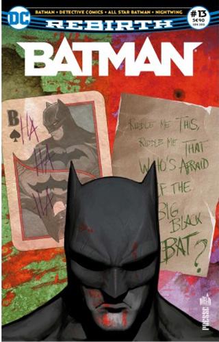 BATMAN REBIRTH 13 LE SPHINX CONTRE LE JOKER !