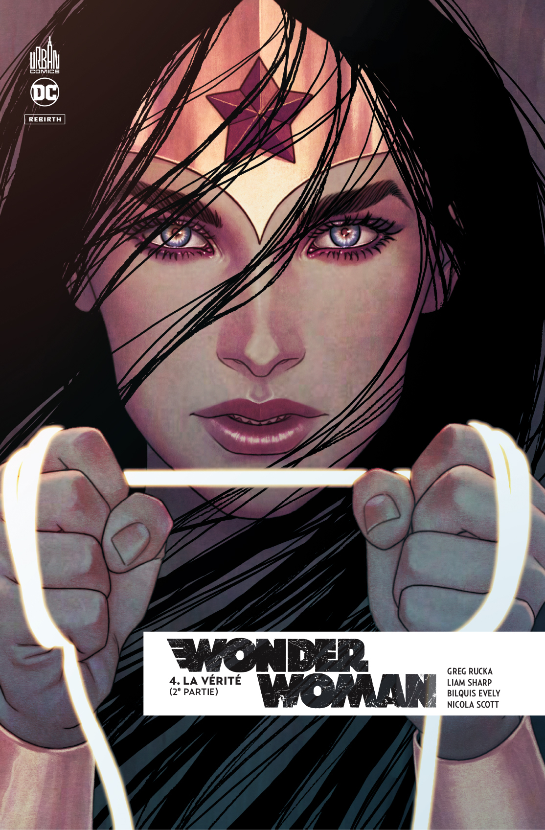 WONDER WOMAN REBIRTH TOME 4
