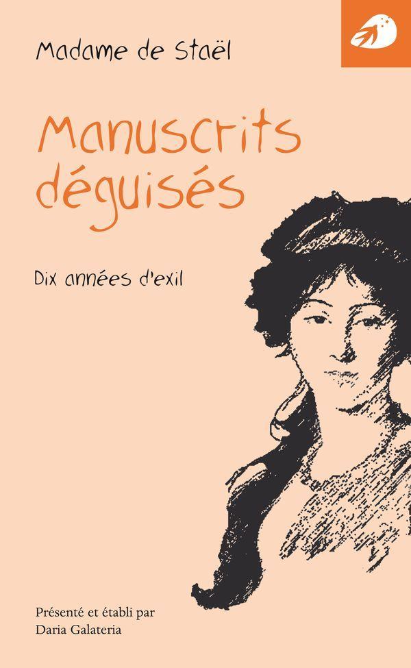 MANUSCRITS DEGUISES