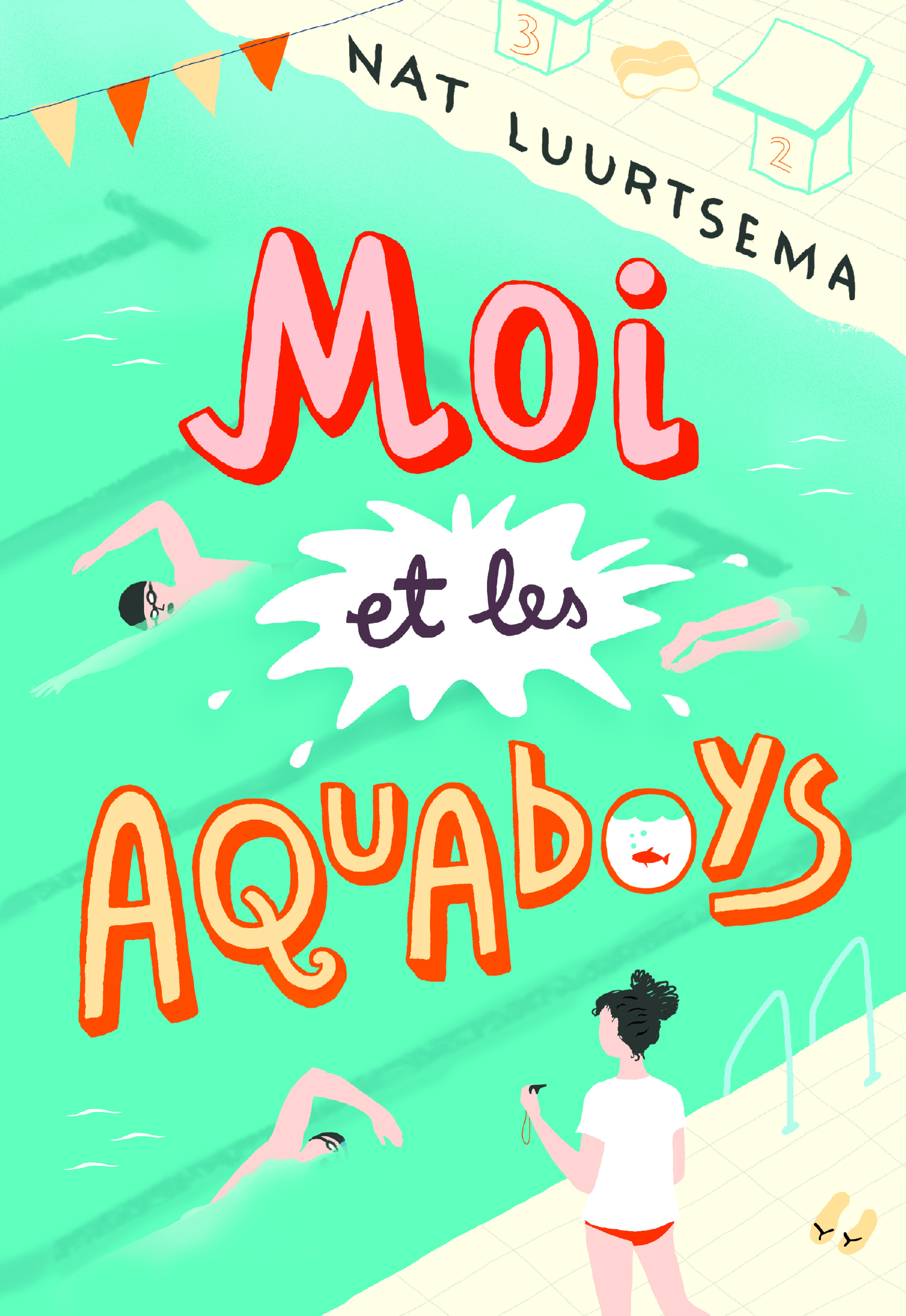 GRAND FORMAT LITTERATURE - ROMANS ADO - MOI ET LES AQUABOYS