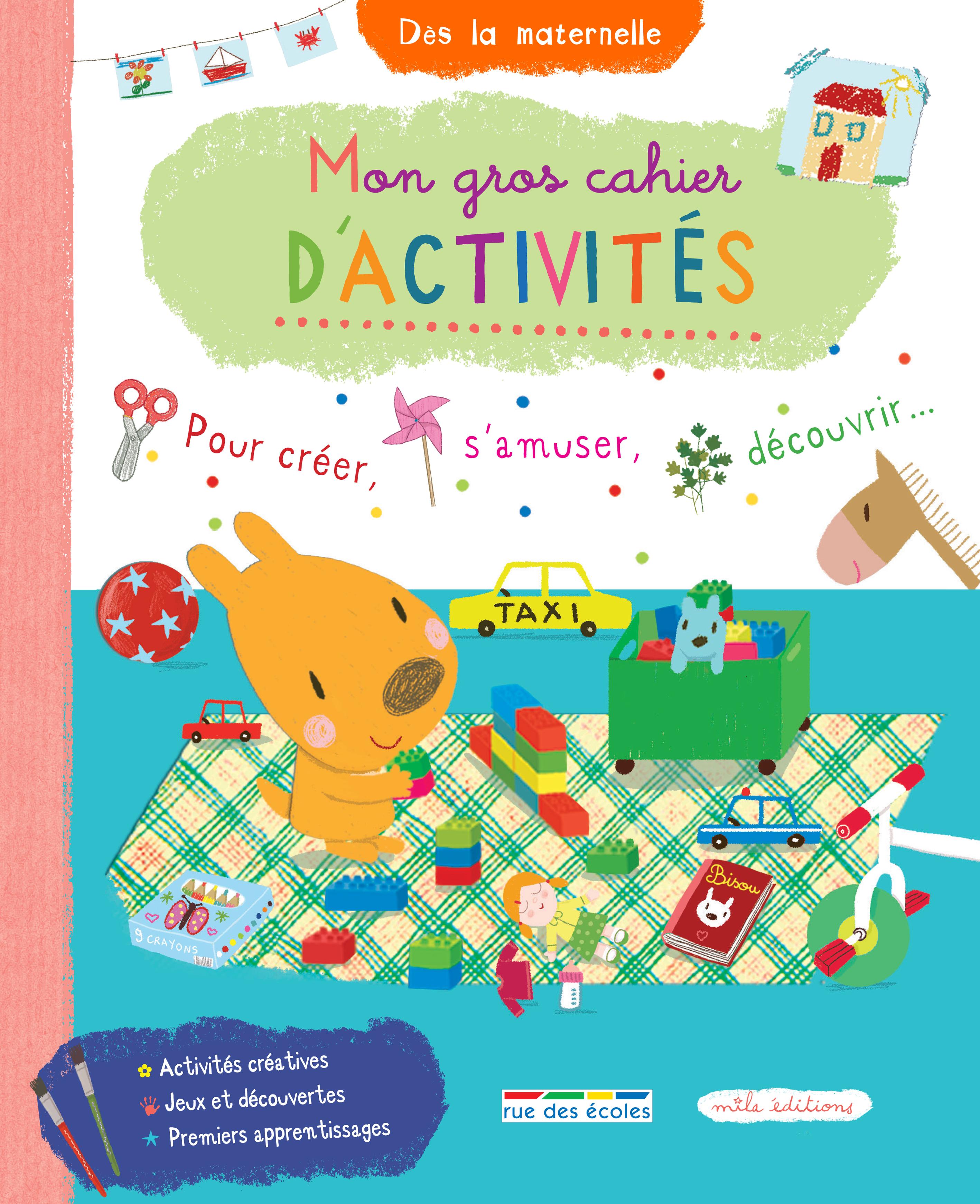 GROS CAHIER D'ACTIVITES (MON)