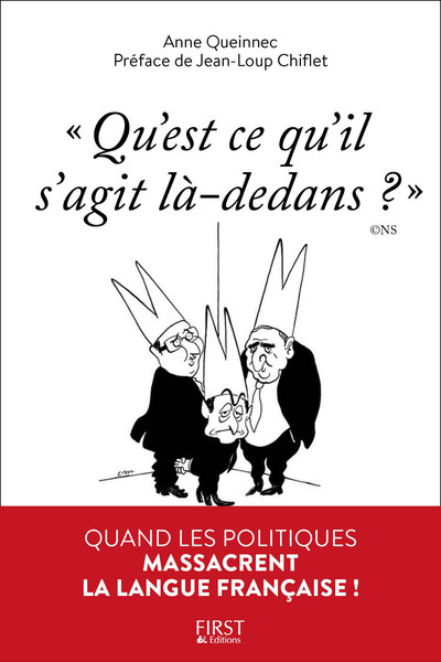 """""""QU'EST-CE QU'IL S'AGIT LA-DEDANS ?"""" QUAND LES POLITIQUES MASSACRENT LA LANGUE FRANCAISE"""