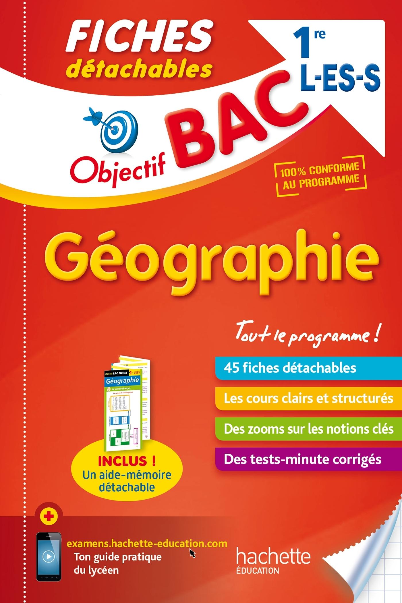 fiches detachables histoire geographie 2nde