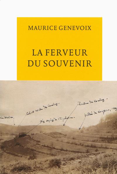 9782710369998 - LA FERVEUR DU SOUVENIR - GENEVOIX MAURIC