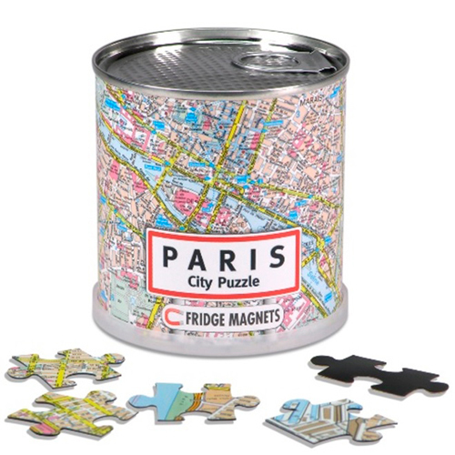 CITY PUZZLE PARIS 100 PIECES MAGNETIQUES