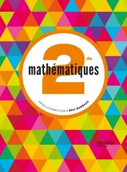 MATHEMATIQUES BARBAZO 2DE - LIVRE ELEVE FORMAT COMPACT - ED. 2014
