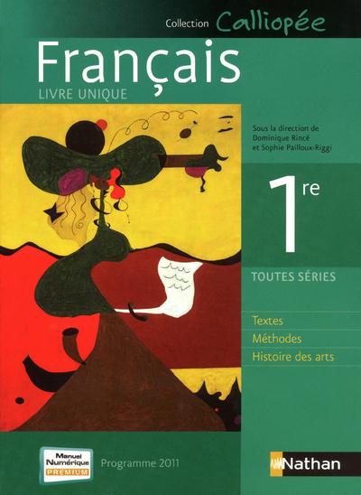 FRANCAIS 1E LIV UNIQ GF 2011