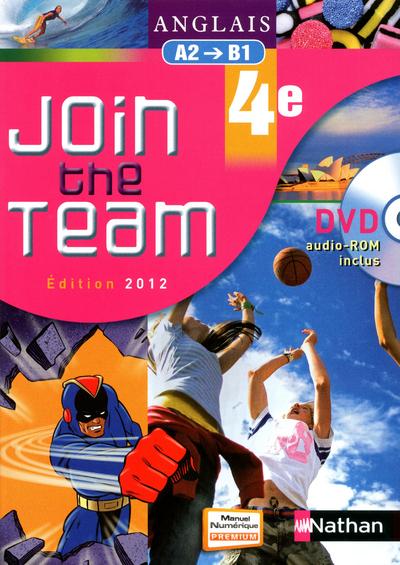 JOIN THE TEAM 4E + DVD-ROM ELE