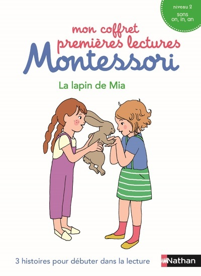 LE LAPIN DE MIA - MON COFFRET PREMIERES LECTURES MONTESSORI