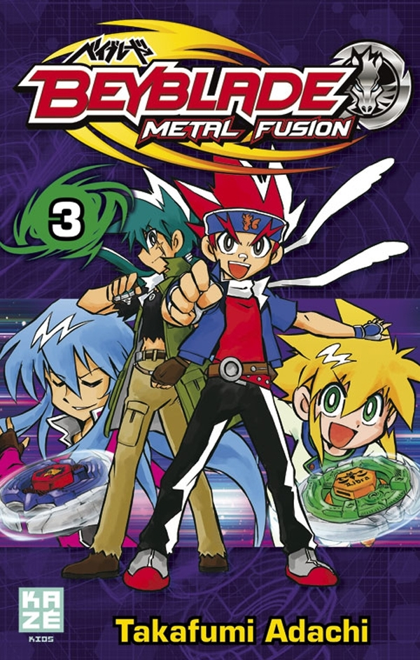 BEYBLADE METAL FUSION T03