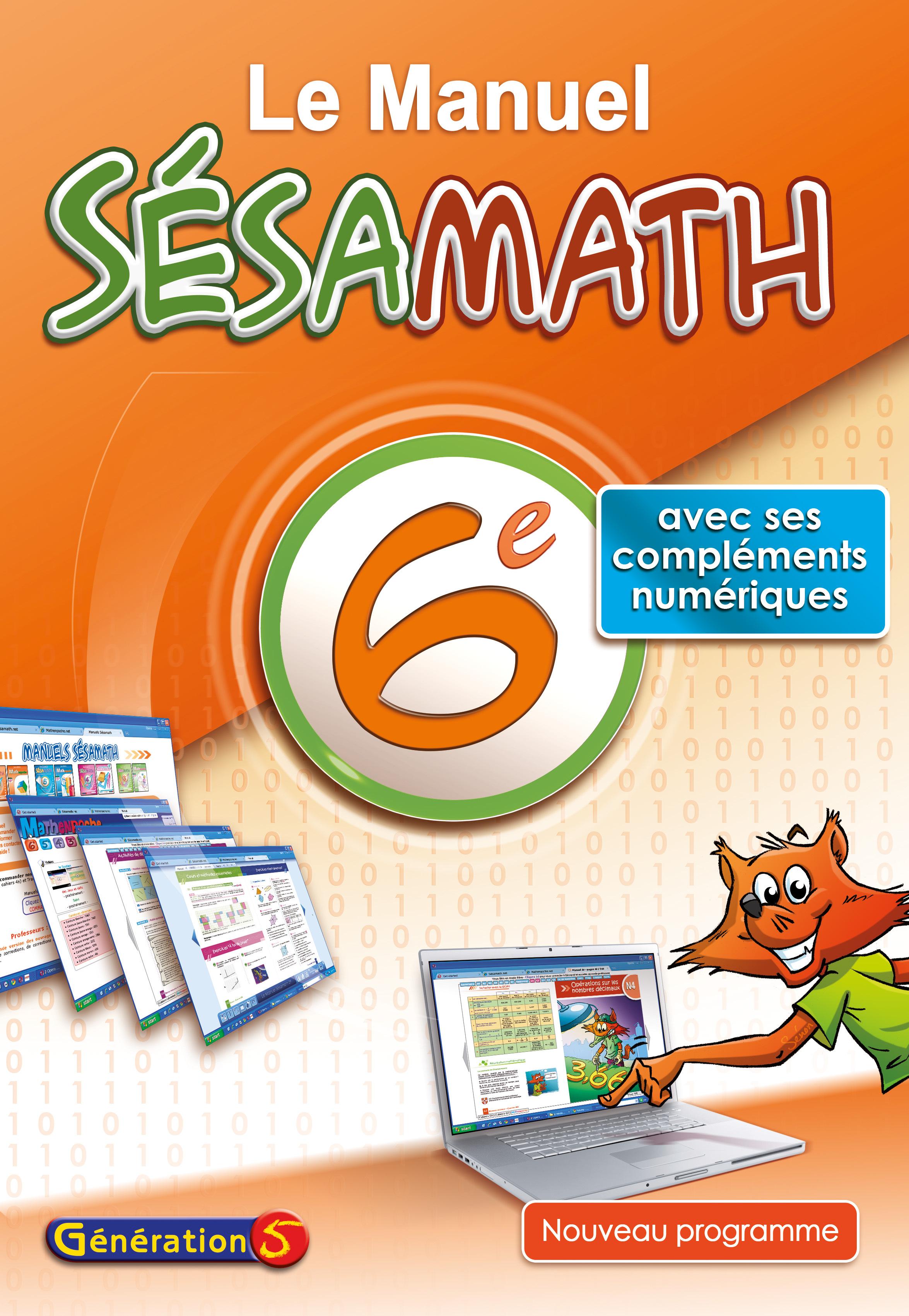 MANUEL SESAMATH 6EME (EDITION 2013)