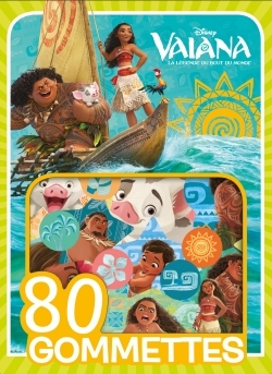 VAIANA - 80 GOMMETTES DISNEY