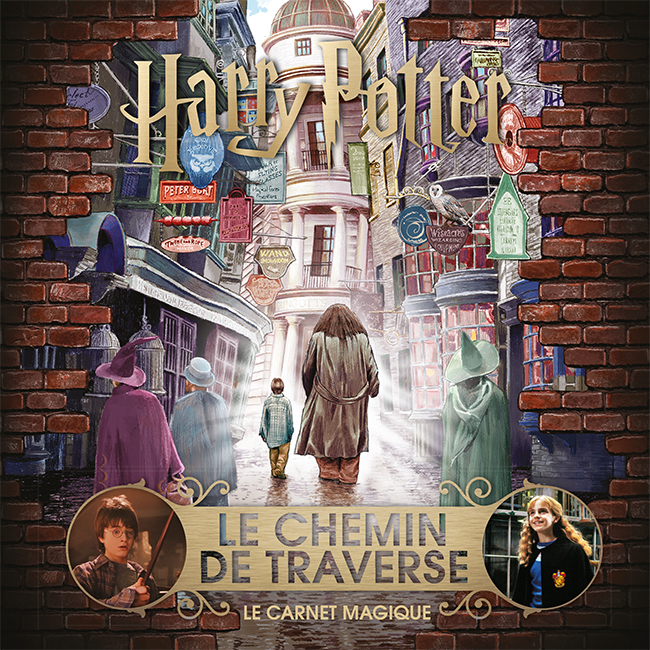 HARRY POTTER : LE CHEMIN DE TRAVERSE - LE CARNET MAGIQUE