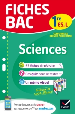 FICHES BAC SCIENCES 1RE ES, L