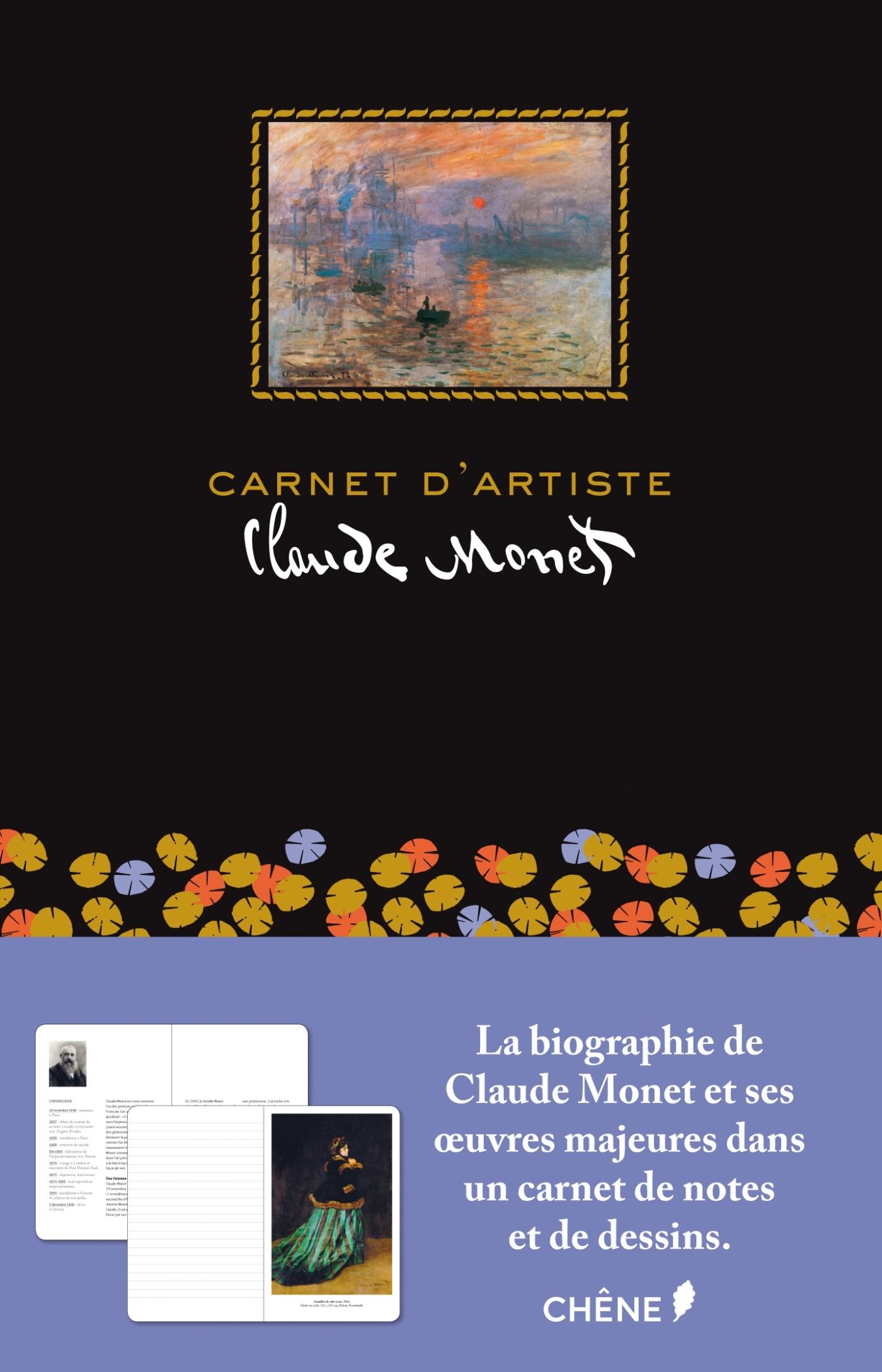 CARNET D'ARTISTES CLAUDE MONET