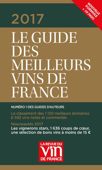 LE GUIDE VERT DES MEILLEURS VINS DE FRANCE 2017