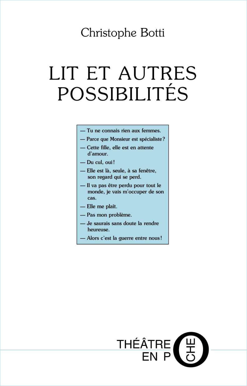 Lit et autres possibilités
